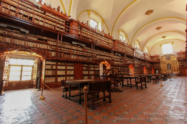 Biblioteca Palafoxiana Luis Lozano 5