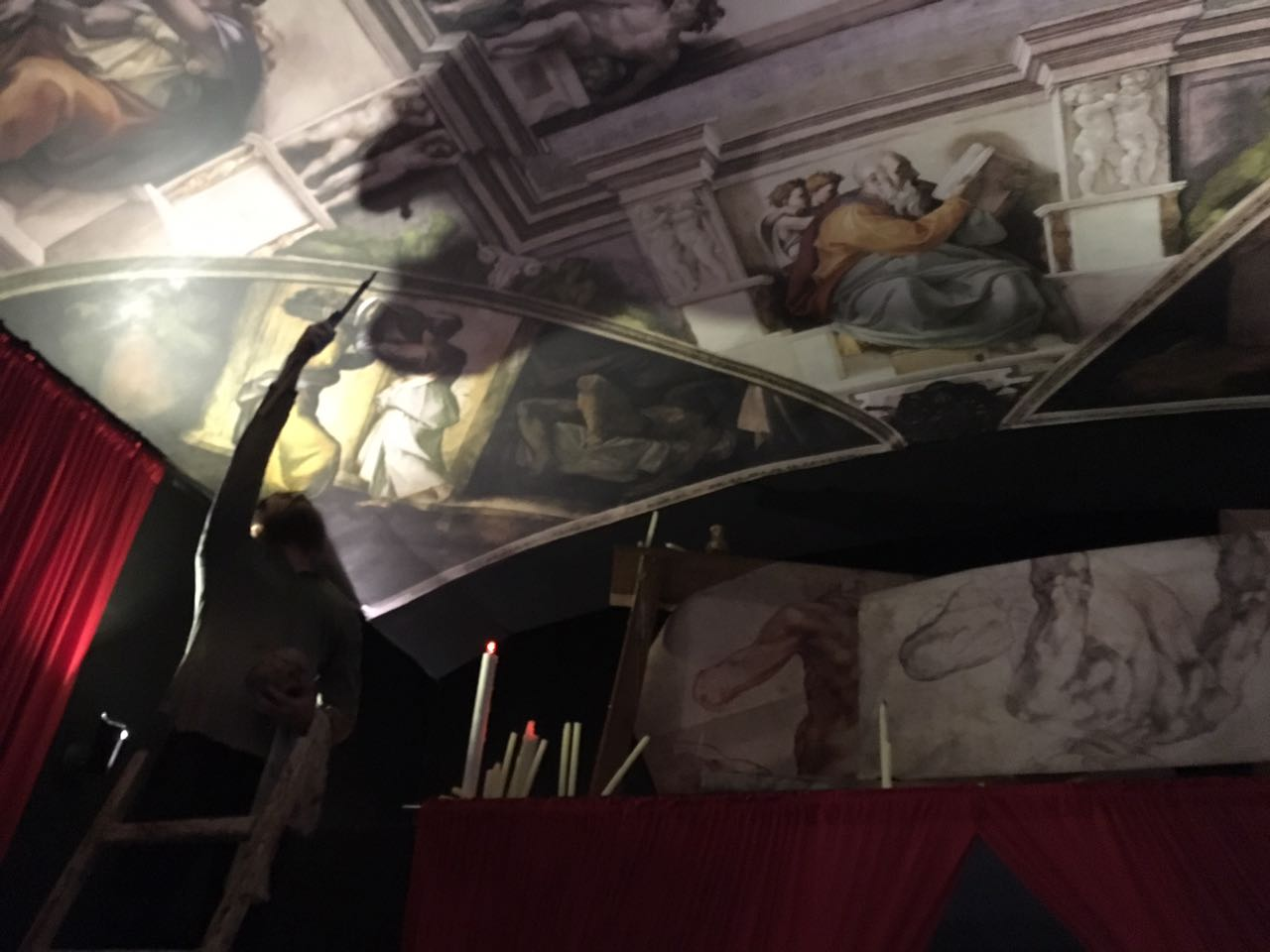 Miguel Angel el Divino en Puebla Luis Lozano 10