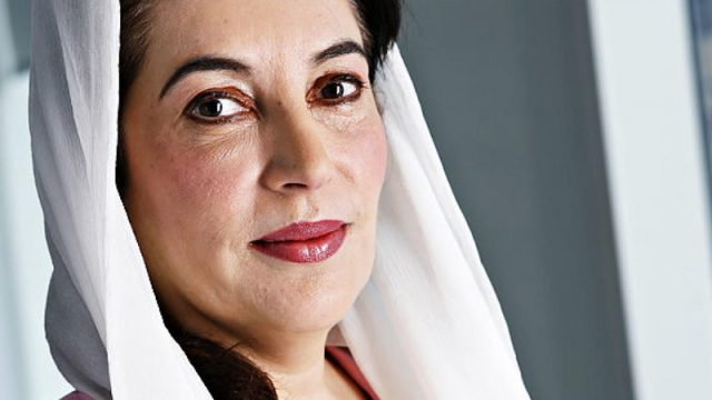 Benazir Bhutto, heroína de la democracia